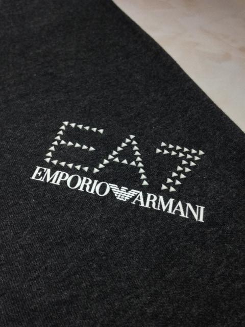 タグ付き新品エンポリオアルマーニロゴスウェットジョガーパンツ < ブランドの