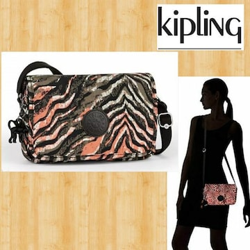 kipling キプリング 新品 ショルダーバッグ ピンク Delphin