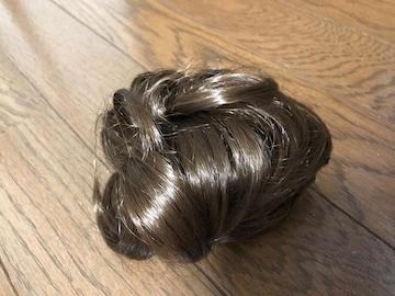 新品未使用ポイントウィッグ シュシュ 部分用 付け毛 エクステ