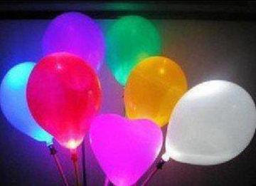 光る風船 バルーン マジックスティック クリスマス LED 3本セット