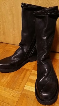 新品KMRIIケムリ BLACKJACK CRUSH BOOTS 3