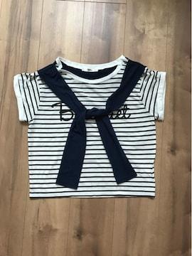 GRL ボーダーTシャツ