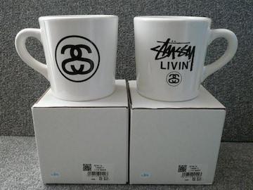 LIVIN「マグカップ ホワイト2個セット」38