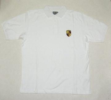 1セール!  ポルシェ ロゴ  ポロシャツ 赤 L f130