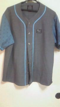 クライミー半袖切替えし ベースボールシャツ