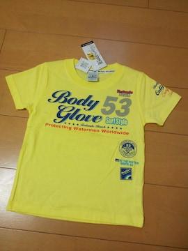 新品Tシャツ110黄BODYGLOVEボディーグローブ