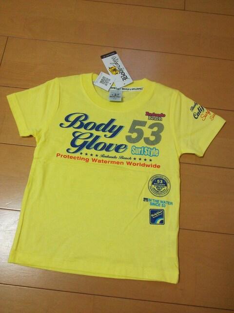 新品Tシャツ110黄BODYGLOVEボディーグローブ  < キッズ/ベビーの