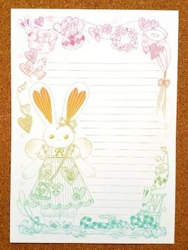オリジナル便せん《191》★手描きイラスト便せん★カントリー系★B5サイズ15枚
