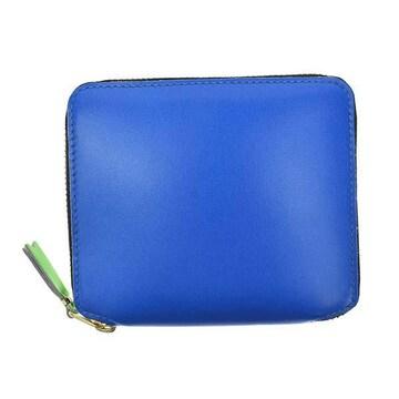 ◆新品本物◆コムデギャルソン SUPER FLUO 2つ折財布(BL)『SA2100SF』