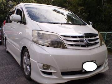 最高級ワンボックスアルファード人気のパール車検満タン