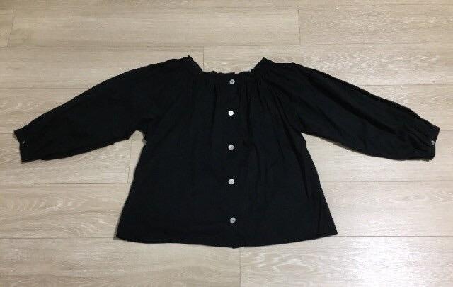セレクトショップ購入 ギャザーブラウス 日本製 < 女性ファッションの