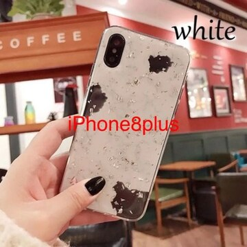 ★ 送料無料 ■新品■ 大理石調  iPhoneケース iPhone 8plus用