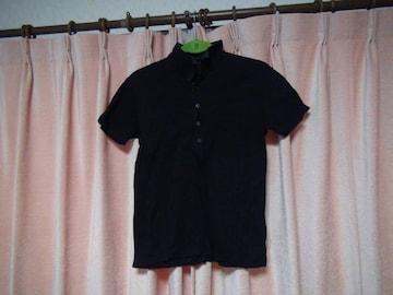 チョーギンの黒のポロシャツ、日本製(M)!。