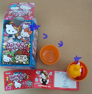 フルタ ハローキティ チョコエッグ 7番 Yoshikitty Yoshiki 新品