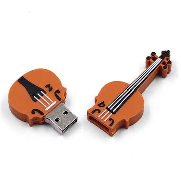 ギター型 USB 32GB USBフラッシュメモリ 大容量 パソコン
