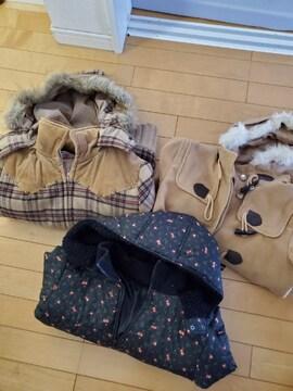 冬物 レディースジャケット、コートまとめて3着