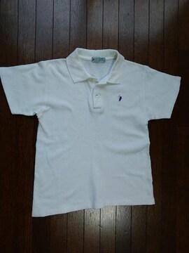 POLOSPIRIT 白のポロシャツ 150