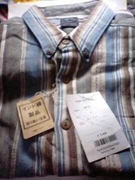インド綿 半袖シャツ  M寸  未使用品