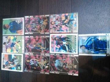 セレッソ大阪 直筆サインカード 10枚セット
