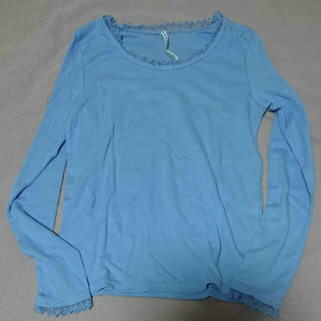 sunao kuwahara水色長袖Tシャツ  < ブランドの