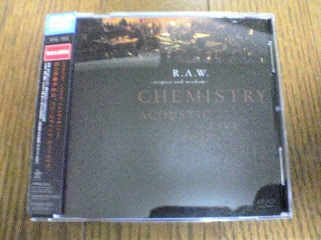 CHEMISTRY DVD ACOUSTIC LIVE 2002  < タレントグッズの