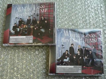 新品/Hey!Say!JUMP/White Love【初回盤1+2】CD+DVD/2枚set他出品