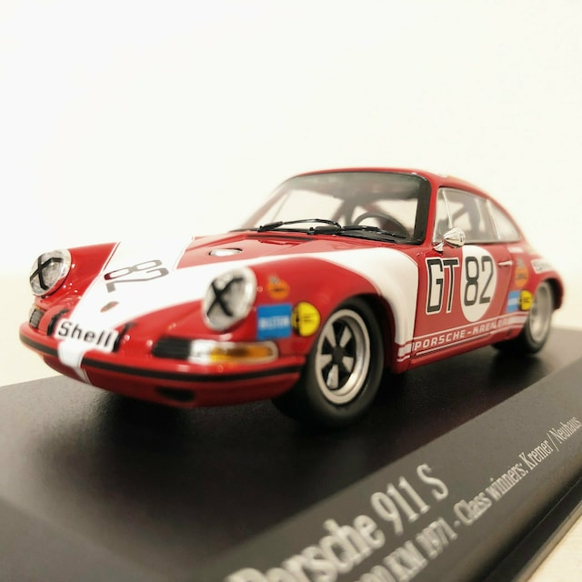 PMAミニチャンプス/Porscheポルシェ 911S 1/43 限定1008台  < ホビーの