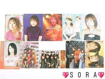 【安倍なつみ】トレーディング.コレクションカード.トレカ10枚セット�A