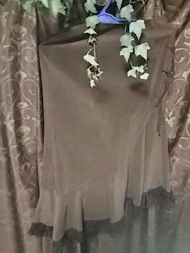 イマージュ 斜め上がりスカート【O】