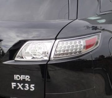インフィニティ メッキテールライトリング FX35 FX45