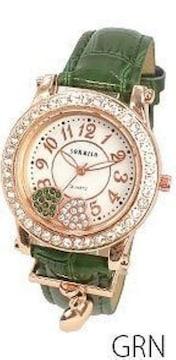 プレゼント 腕時計 グリーン
