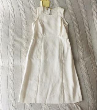 アニオナ 22万 世界最高 美品 サマードレス ワンピース ホワイト