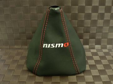 NISSAN NISMO ニスモ シフトブーツ カバー レッドステッチ