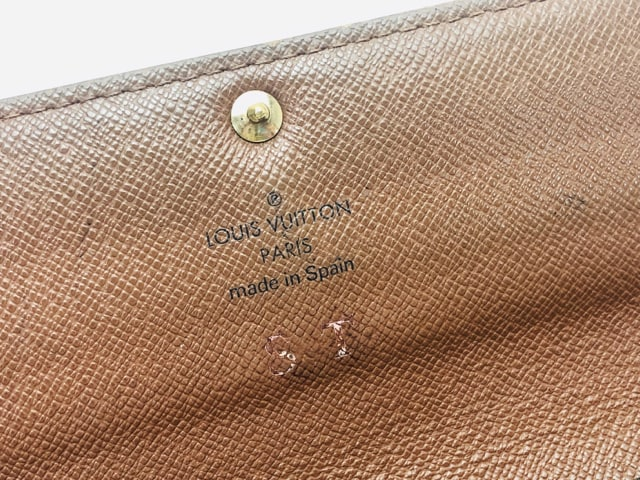 D381 ルイヴィトン 長財布 メンズ レディース < ブランドの