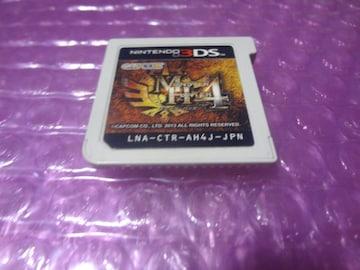 「送料無料」※カセのみ 堀3DS  モンハン4