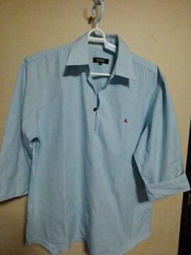 バーバリ ブラックレーベル シャツ七分袖 3 三陽商会
