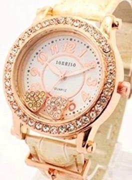 プレゼント 腕時計 ベージュ