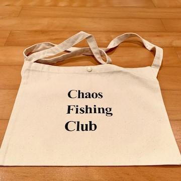 Chaos fishing CLUB サコッシュ 黒 ブラック