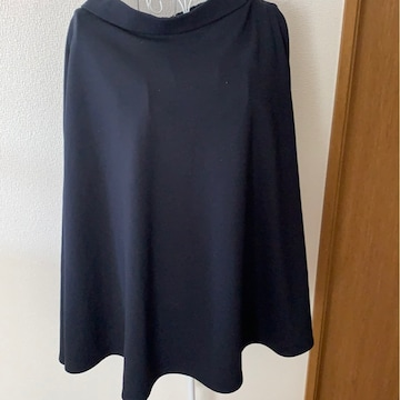 GU★ネイビー★シンプルスカート★サイズXL