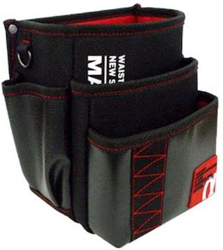 腰袋三段タイプ レッド MDP-93AR