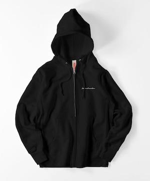 JammiesBamsMens Zip hoodie 黒 パーカー