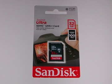 SanDisk SDHC 32GB 100MB/s 新品 送料無料