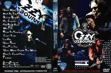 ≪送料無料≫OZZY OSBOURNE IN ARGENTINA 2008 オジーオズボーン