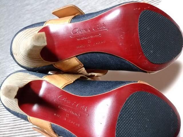 オデットエオディール パンプス オープントゥ サンダル 新品 < 女性ファッションの