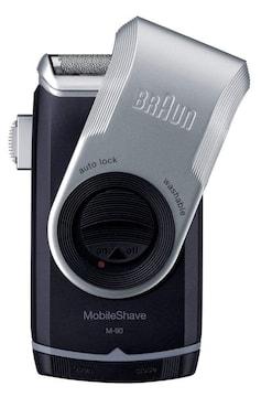 モバイルメンズ電気シェーバー M-90 水洗い可 本体のみ