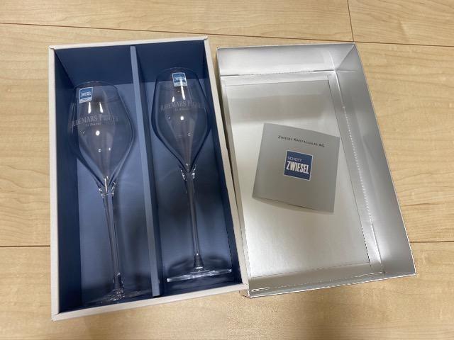 未使用 オーデマピゲ クリスタルグラス ノベルティ  < ブランドの