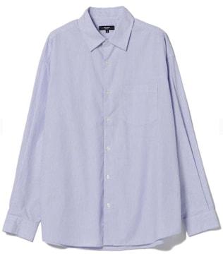 メンズ ストライプビッグシャツ