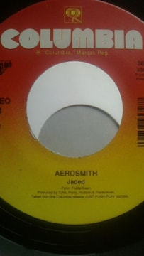 エアロスミス 名曲 ジェデッド  7インチ シングルレコード 新品
