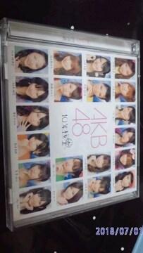 AKB48 10年桜 CD 【中古】