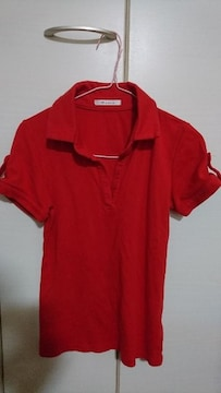 M.deux  エムドゥ ポロシャツ 赤